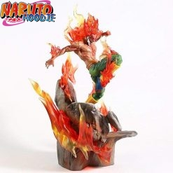 naruto figure might guy 8 gates statue with box 2