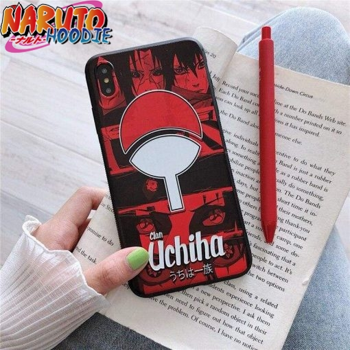 naruto iphone case uchiha clan for 11 pro max 11 a vendre