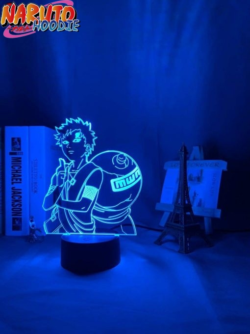 naruto lamp gaara of the sand 16 color with remote naruto items 1