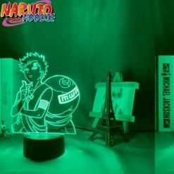 naruto lamp gaara of the sand 16 color with remote pas chers 1
