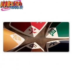 naruto mouse pad kages hats 1220x610x2mm