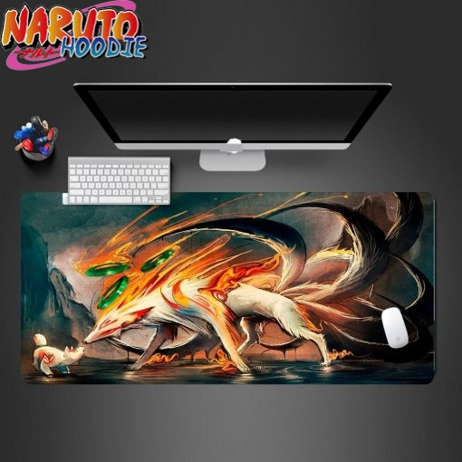 naruto mouse pad kyuubi nine tails 900x400x2 1