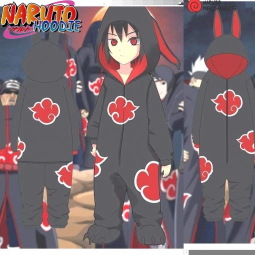 naruto onesie akatsuki for adults br limited edition short legs l a vendre