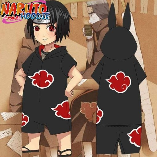 naruto onesie akatsuki for adults br limited edition short legs l prix 1 1