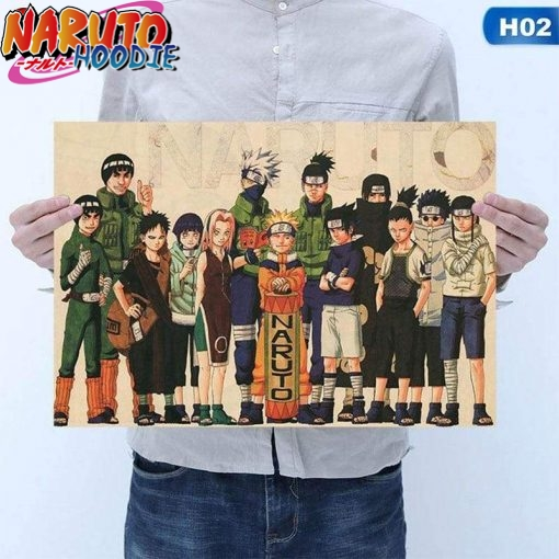naruto poster first generation 1