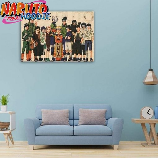 naruto poster first generation a vendre