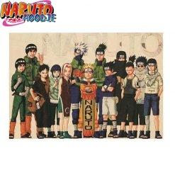 naruto poster first generation pas chers 1