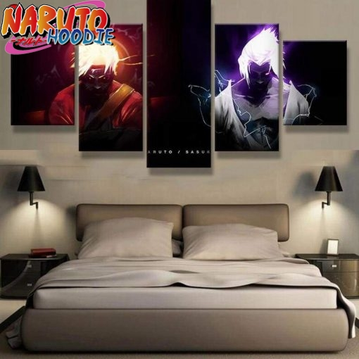 naruto wall art eternal rivals extra large with frame 1